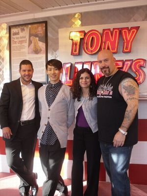 Cherry Hill Imports Jon Alessandri, me, Philabundance and Tony Luke.jpg