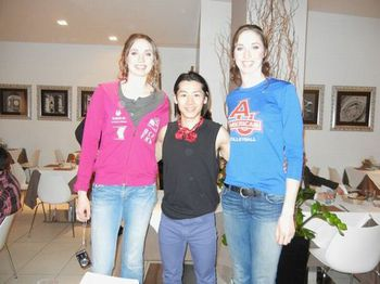 Claire and Ann Reicht-The Tallest twin sisters.jpg