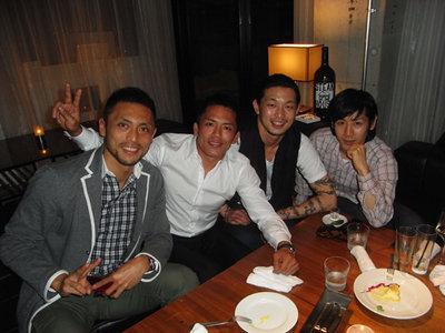 Minowa, Nomura, Atsushi and me.jpg