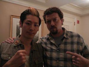 With Danny McBride 08142011.JPG