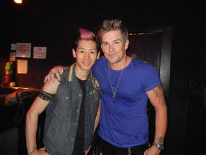 With Mark McGrath, lead vocalist of Sugar Ray.JPG